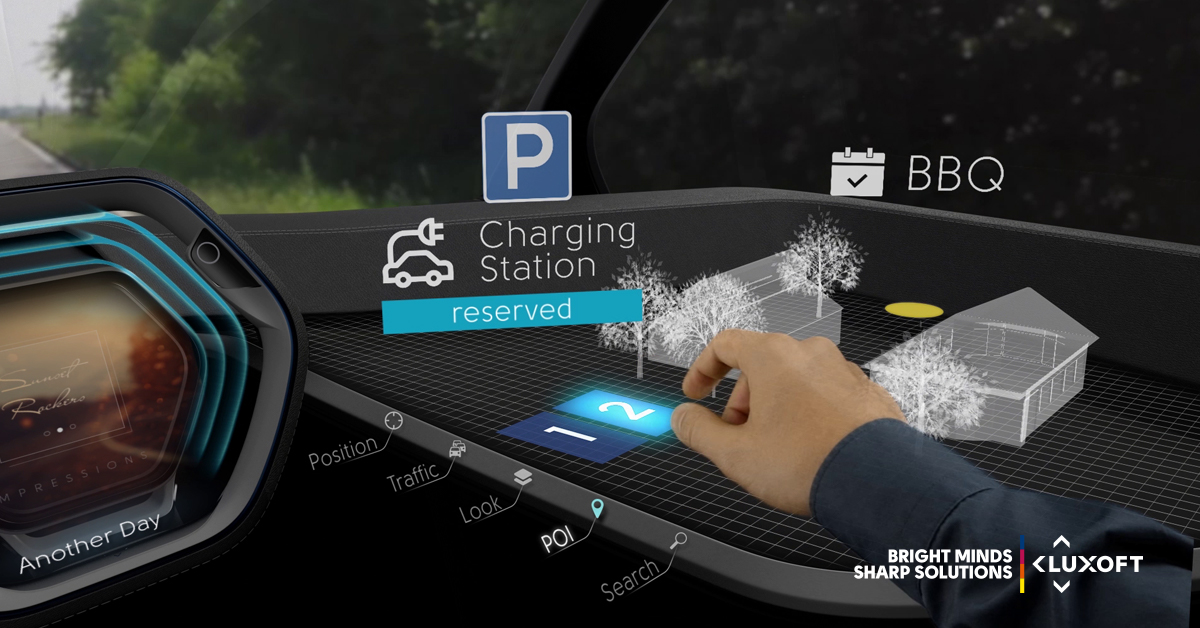 Lui Ar Virtual Interaction With The Car